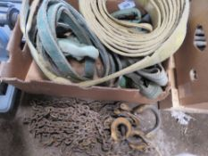LIFTING SLINGS AND CHAIN, UNTESTED