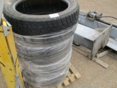 4 X JAGUAR 245/45 R18 PART WORN TYRES