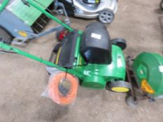 JOHN DEERE DR31RE ELECTRIC SCARIFIER, UNUSED.................................... ADDITIONAL TERMS: