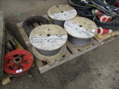 4 X ROLLS OF WIRE BOND ROPES