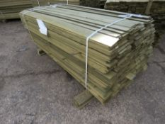 LARGE PACK OF FLAT SLAT CLADDING TIMBER 1.75METRES LENGTH X 9.5CM WIDE X 0.7CM DEPTH APPROX