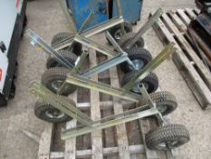 5 X PROBST VPH 2 WHEEL TROLLEYS
