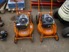 2 X AS MOTOR PROFESSIONAL ROTARY MOWERS, YEAR 2012....SOURCED FROM MALDON COUNCIL