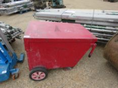 WHEELD TOOL BARROW WITH KEY. DIRECT FROM LOCAL COMPANY DUE TO DEPOT CLOSURE