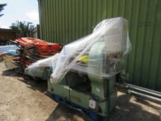 WADKIN WOODWORK MACHINE WITH SAW AND MOULDING/JOINTING STATIONS. EX COMPANY LIQUIDATION.