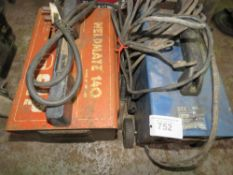 2 X SMALL ARC WELDERS.