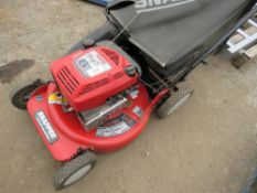 SNAPPER PETROL MOWER WITH COLLECTOR