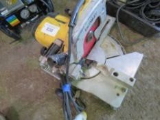 DEWALT 110 VOLT CROSS CUT MITRE SAW.