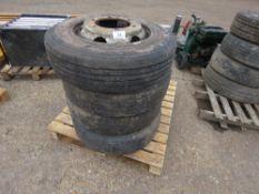 4 X DAF/CARGO 7.5TONNE LORRY WHEELS 215/75R17.5