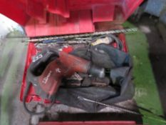 2 X HILTI TE7 BREAKERS PLUS DRILL BITS & SUNDRIES, DIRECT FROM COMPANY LIQUIDATION