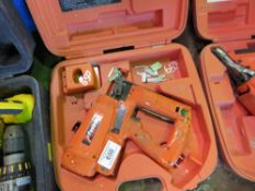 PASLODE SECOND FIX NAIL GUN, CONDITION UNKNOWN.