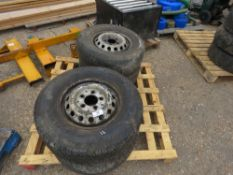 4 X MERCEDES SPRINTER WHEELS AND TYRES 225/70R15