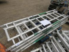 7 X NARROW SCAFFOLD TOWER 5 RUNG FRAMES. DIRECT FROM LOCAL COMPANY DUE TO DEPOT CLOSURE
