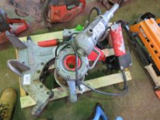 RIDGID 258 PIPE CUTTING SAW. DIRECT FROM LOCAL COMPANY DUE TO DEPOT CLOSURE.