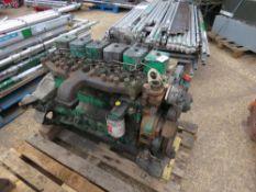 GREEN CUMMINS B SERIES 6 CYLINDER ENGINE