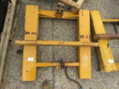 FORKLIFT MOUNTING FRAME TO TAKE BLOCK GRAB ETC