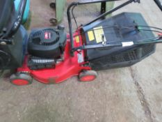 MOWER. RUNS AND CUTS.