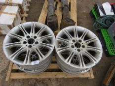 4 X BMW M SERIES RIMS MARKED 255/35X18 SIZE