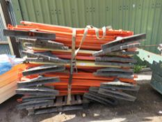 PALLET OF CHAPTER 8 BARRIERS.