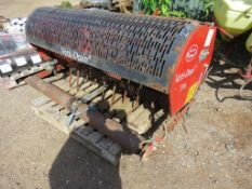 CHARTERHOUSE VERTIDRAIN 7316 TRACTOR MOUNTED AERATOR. 5FT WIDE APPROX.
