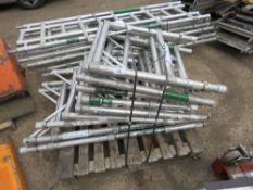 PALLET OF NARROW SCAFFOLD TOWER FRAMES. DIRECT FROM LOCAL COMPANY DUE TO DEPOT CLOSURE