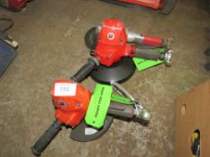 3 X AIR GRINDERS/CUTTERS. DIRECT FROM LOCAL COMPANY DUE TO DEPOT CLOSURE.