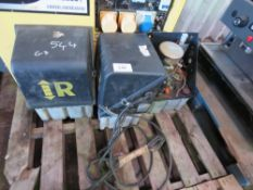 3 X RATCLIFFE TAIL LIFT PUMPS. DIRECT EX LOCAL COMPANY DUE TO DEPOT CLOSURE