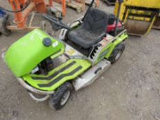 GRILLO CLIMBER BANK MOWER. WHEN TESTED WAS SEEN TO TURN OVER, NOT STARTING.