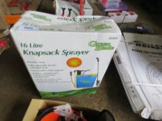 16 LITRE KNAPSACK SPRAYER.