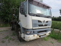 FODEN 250 4 X 2 SKIP LORRY. REG:LX53 CSZ WITH MACLIFT TELESCOPIC EQUIPMENT. WHEN TESTED WAS SEEN TO