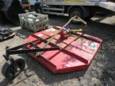 BIG BEE 6FT TRACTOR MOUNTED TOPPER MOWER.