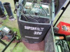 SEALEY SUPER START 320 JUMP STARTER CHARGER UNIT. CONDITION UNKNOWN.