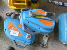 BLOCFOR 2 X MAN RECOVERY WINCHES.