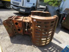 ACDE S90 SELECTOR GRAB FOR 13TONNE EXCAVATOR. NEEDS ATTENTION