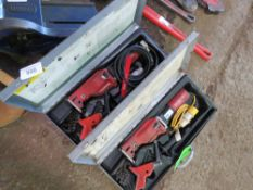2 X RIDGID PIPE CUTTING SAW SETS. DIRECT EX LOCAL COMPANY DUE TO DEPOT CLOSURE.