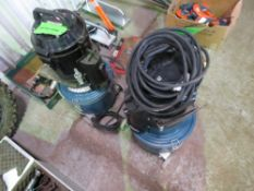 2 X 110 VOLT DUST EXTRACTORS. DIRECT FROM LOCAL COMPANY DUE TO DEPOT CLOSURE.