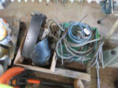 OXFORD 240VOLT ARC WELDER PLUS SUNDRIES. DIRECT EX LOCAL COMPANY DUE TO DEPOT CLOSURE.