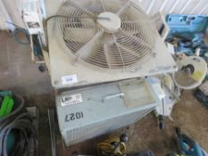 2 X FANS. DIRECT EX LOCAL COMPANY DUE TO DEPOT CLOSURE.