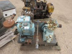 LISTER ENGINED COMPRESSOR