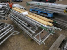 PALLET OF MIXED SCAFFOLD PARTS