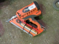 PASLODE SECOND FIX NAIL GUN. CONDITION UNKNOWN. DIRECT FROM LOCAL COMPANY DUE TO DEPOT CLOSURE.