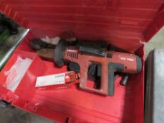 HILTI NAIL GUN, CONDITION UNKNOWN.