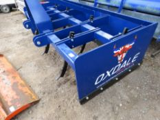 OXDALE HEAVY DUTY LEVELING BOX FOR 80-100HP TRACTOR. 8FT. UNUSED.