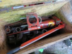"RIDGID 2"" HEAVY DUTY PIPE TUBE BENDER IN BOX. DIRECT EX LOCAL COMPANY DUE TO DEPOT CLOSURE"