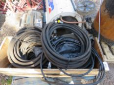 ASSORTED HOSES. DIRECT FROM LOCAL COMPANY DUE TO DEPOT CLOSURE.
