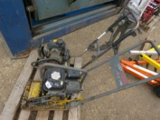 2 X COMPACTION PLATES FOR SPARES/REPAIR
