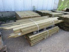 4 X 6FT FENCING PANLES PLUS BUNDLE OF TIMBER