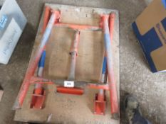 RIDGID PIPE TABLE. DIRECT FROM LOCAL COMPANY DUE TO DEPOT CLOSURE.