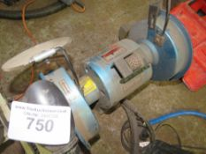 BENCH GRINDER. DIRECT FROM LOCAL COMPANY DUE TO DEPOT CLOSURE.