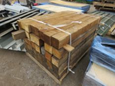 "PALLET OF 40NO 4""X4"" 4FT POSTS APPROX."